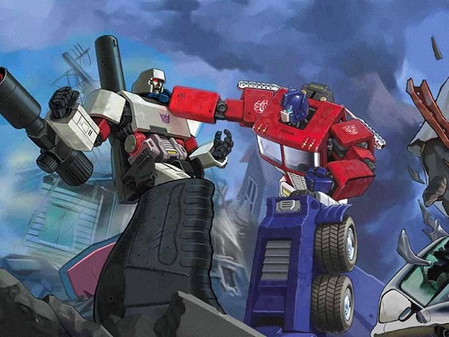 Megatron meet the shoguns - Transformers cartoon optimus prime vs megatron ...